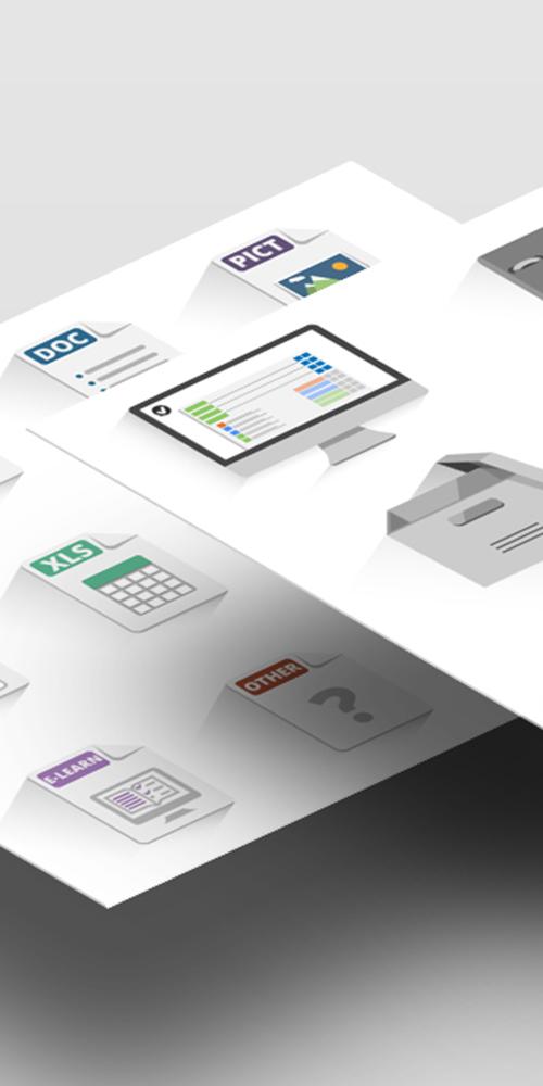 Icones Flat Design