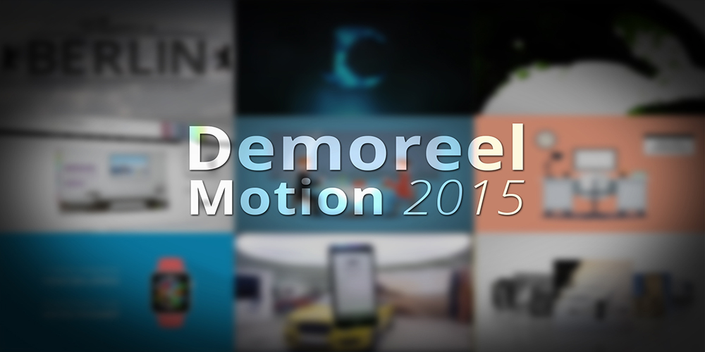 Demoreel Motion 2015
